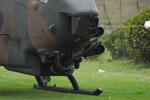 機首の20mm機関砲