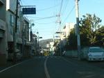 柿岡の街並み
