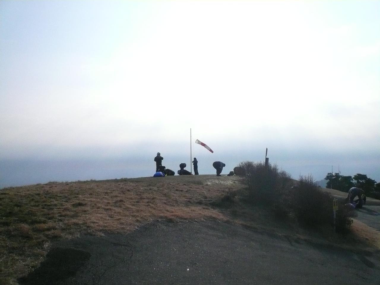 朝の東テイクオフ